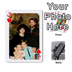 Jack Father s Day By Kristen   Playing Cards 54 Designs   6vw540blpqe8   Www Artscow Com Front - HeartJ