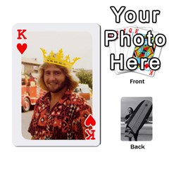 King Father s Day By Kristen   Playing Cards 54 Designs   6vw540blpqe8   Www Artscow Com Front - HeartK