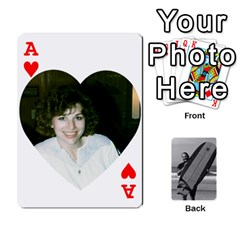 Ace Father s Day By Kristen   Playing Cards 54 Designs   6vw540blpqe8   Www Artscow Com Front - HeartA