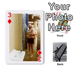 Father s Day By Kristen   Playing Cards 54 Designs   6vw540blpqe8   Www Artscow Com Front - Diamond3