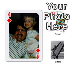 Father s Day By Kristen   Playing Cards 54 Designs   6vw540blpqe8   Www Artscow Com Front - Diamond4