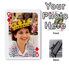 Queen Father s Day By Kristen   Playing Cards 54 Designs   6vw540blpqe8   Www Artscow Com Front - DiamondQ