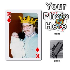 King Father s Day By Kristen   Playing Cards 54 Designs   6vw540blpqe8   Www Artscow Com Front - DiamondK