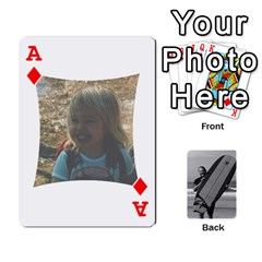 Ace Father s Day By Kristen   Playing Cards 54 Designs   6vw540blpqe8   Www Artscow Com Front - DiamondA