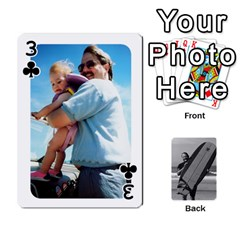 Father s Day By Kristen   Playing Cards 54 Designs   6vw540blpqe8   Www Artscow Com Front - Club3