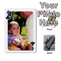 Father s Day By Kristen   Playing Cards 54 Designs   6vw540blpqe8   Www Artscow Com Front - Club4