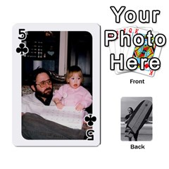 Father s Day By Kristen   Playing Cards 54 Designs   6vw540blpqe8   Www Artscow Com Front - Club5