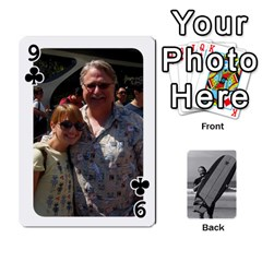 Father s Day By Kristen   Playing Cards 54 Designs   6vw540blpqe8   Www Artscow Com Front - Club9