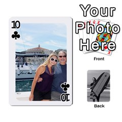 Father s Day By Kristen   Playing Cards 54 Designs   6vw540blpqe8   Www Artscow Com Front - Club10