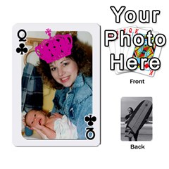 Queen Father s Day By Kristen   Playing Cards 54 Designs   6vw540blpqe8   Www Artscow Com Front - ClubQ