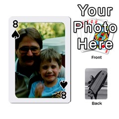 Father s Day By Kristen   Playing Cards 54 Designs   6vw540blpqe8   Www Artscow Com Front - Spade8