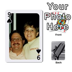 Father s Day By Kristen   Playing Cards 54 Designs   6vw540blpqe8   Www Artscow Com Front - Spade9