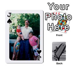 Jack Father s Day By Kristen   Playing Cards 54 Designs   6vw540blpqe8   Www Artscow Com Front - SpadeJ