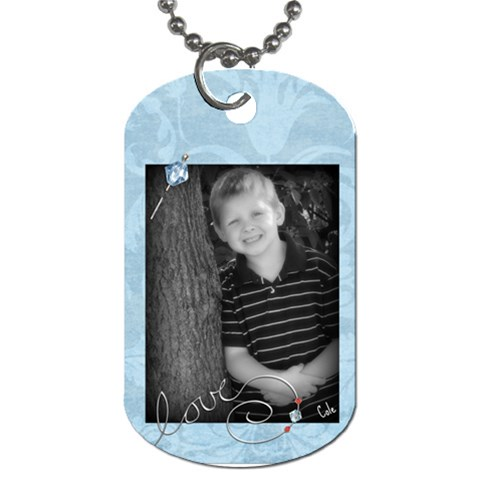 Coledogtag By Naomi Schloemer   Dog Tag (one Side)   Pz6tlkbzl09p   Www Artscow Com Front