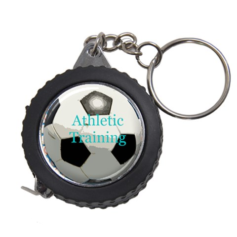Soccer Tape Measure Key Chain By Melissa   Measuring Tape   F8daxfhi2gnz   Www Artscow Com Front