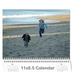 Aug10-July11 - Wall Calendar 11  x 8.5  (12-Months)