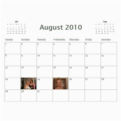 Aug10 July11 By Jayme   Wall Calendar 11  X 8 5  (12 Months)   6wv9e5wgogdw   Www Artscow Com Aug 2010