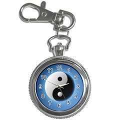 Yin Yang Key Chain Watch by raizodanz