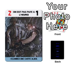 Aliens: French By Mark Chaplin   Playing Cards 54 Designs   18qsylr5cbdn   Www Artscow Com Front - Heart5