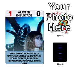 Aliens: French By Mark Chaplin   Playing Cards 54 Designs   18qsylr5cbdn   Www Artscow Com Front - Spade4