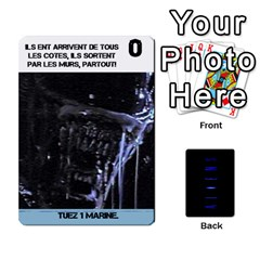 Aliens: French By Mark Chaplin   Playing Cards 54 Designs   18qsylr5cbdn   Www Artscow Com Front - Diamond3