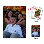 Grandkids Playing Cards - Playing Cards Single Design