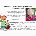 brayden s birthday cards - 5  x 7  Photo Cards