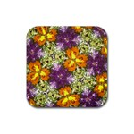 flower scope - Rubber Coaster (Square)
