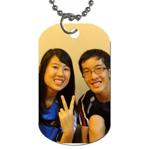 Dt   Personal By Justin Chia   Dog Tag (one Side)   G2nnsgfx934e   Www Artscow Com Front