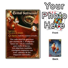 Battelore Cartas Lore  By Alex   Playing Cards 54 Designs   Jitzvpdkf4zm   Www Artscow Com Front - Club4