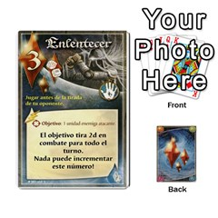 Battelore Cartas Lore  By Alex   Playing Cards 54 Designs   Jitzvpdkf4zm   Www Artscow Com Front - Club10