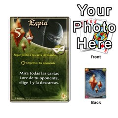 Battelore Cartas Lore  By Alex   Playing Cards 54 Designs   Jitzvpdkf4zm   Www Artscow Com Front - Spade10