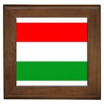 big_Hungarian_flag Framed Tile