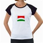 big_Hungarian_flag Women s Cap Sleeve T