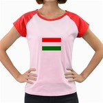 big_Hungarian_flag Women s Cap Sleeve T-Shirt