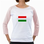 big_Hungarian_flag Girly Raglan