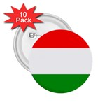 big_Hungarian_flag 2.25  Button (10 pack)