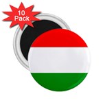big_Hungarian_flag 2.25  Magnet (10 pack)