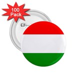 big_Hungarian_flag 2.25  Button (100 pack)