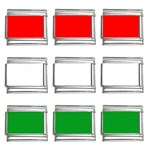 big_Hungarian_flag 9mm Italian Charm (9 pack)
