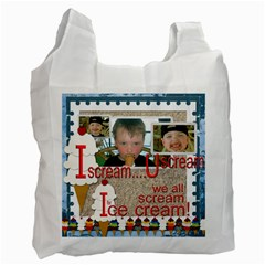I Scream U Scream By Catvinnat   Recycle Bag (two Side)   B41uhz83e1cz   Www Artscow Com Front