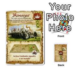 Battelore Cartas De Mando By Alex   Playing Cards 54 Designs   1wgypnk0hs6w   Www Artscow Com Front - Heart2