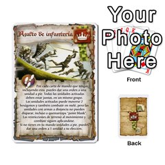 Battelore Cartas De Mando By Alex   Playing Cards 54 Designs   1wgypnk0hs6w   Www Artscow Com Front - Diamond5