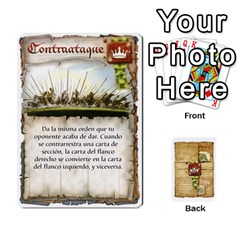 Battelore Cartas De Mando By Alex   Playing Cards 54 Designs   1wgypnk0hs6w   Www Artscow Com Front - Diamond6