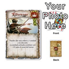 Battelore Cartas De Mando By Alex   Playing Cards 54 Designs   1wgypnk0hs6w   Www Artscow Com Front - Spade6