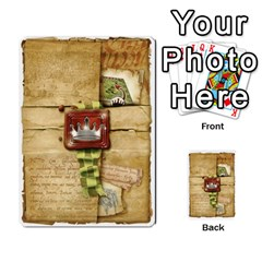 Cartas Restantes By Alex   Multi Purpose Cards (rectangle)   25yw5fywxxer   Www Artscow Com Back 1