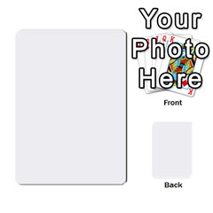 Cartas Restantes By Alex   Multi Purpose Cards (rectangle)   25yw5fywxxer   Www Artscow Com Back 40