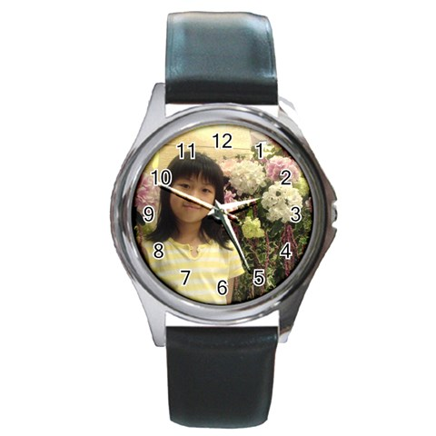 Watch 3 By Natalie   Round Metal Watch   Fqd47o5n0ytb   Www Artscow Com Front