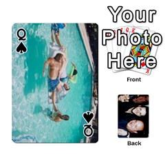 Queen Dad s Playing Cards By Rtchasse   Playing Cards 54 Designs   R6nn2sxss6hu   Www Artscow Com Front - SpadeQ
