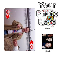 Queen Dad s Playing Cards By Rtchasse   Playing Cards 54 Designs   R6nn2sxss6hu   Www Artscow Com Front - HeartQ